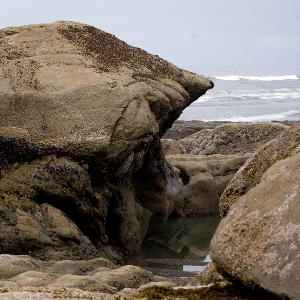 beach rocks shape