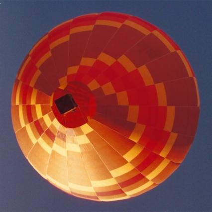 orange balloon shape