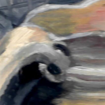 paint-gray-white-reflections-shape