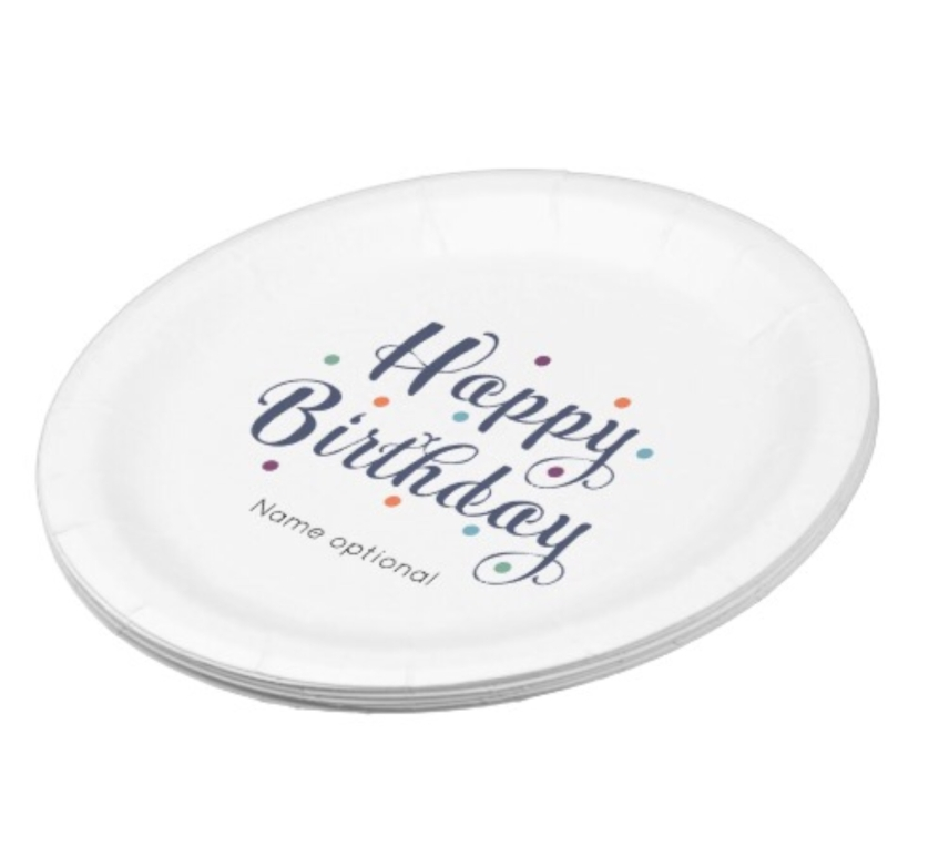Customize Paper plate