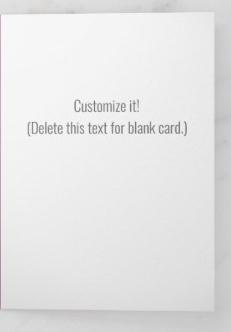 Customize it inside card