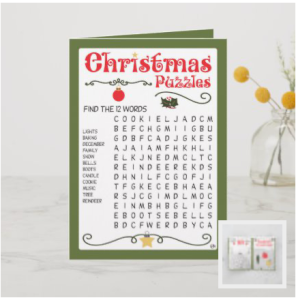 Christmas puzzles for kids